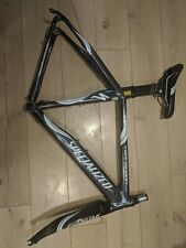Specialized Transition Comp Medium TT road bike frame set Alloy 54cm carbon fork