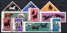 Poland - 1963 Horses - Mi. 1447-56 MNH