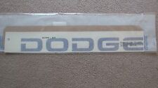 "New OEM Blue ""DODGE"" Ram Tailgate Endgate Decal 5DV73PB7"