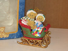"Enesco Cherished Teddies Ornament "" Noel "" 1998 Priscilla Hillman # 406635"