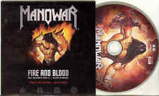Manowar-Fire and Blood picture-CD-rom dans cardcover