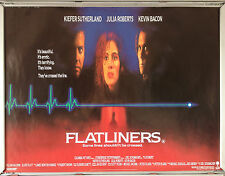 Cinema Poster: FLATLINERS 1990 (Quad) Kiefer Sutherland Julia Roberts