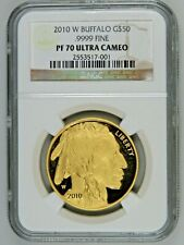 2010 W $50 Proof Gold Buffalo G$50 1oz NGC PF70 Ultra Cameo