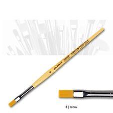 da Vinci 304, Größe 6 JUNIOR Synthetics, Flachpinsel
