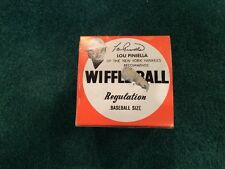 Vintage Wiffle Ball.with Lou Pinella photo and signature imprinted on box