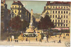 69 - cpa - LYON - Place de la République et le monument Carnot