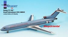 INFLIGHT200 Braniff Airlines B 727 Light Blue 1:200 DIECAST PLANE MODEL IF722014