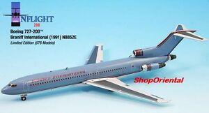 INFLIGHT200 Braniff Airlines B 727 Light Blue 1:200 DIECAST PLANE MODEL IF722014