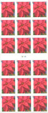 US 4821a Holiday Poinsettia forever ATM Booklet 18 MNH 2013