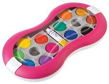 Pelikan Deckfarbkasten Space+ 12 Farben pink Farbkasten Malkasten Mädchen Schule
