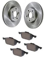 Ford Focus Turnier MK 3 III Brake Discs Front & Pad Set 2010-ON