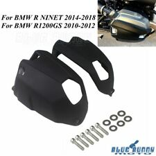Black Cylinder Head Guards Protector Cover For BMW R NINET 14-18 / R1200GS 10-12