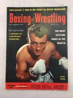 Boxing and Wrestling Magazine August 1953 Paddy Young Front Cover Rocky Marciano