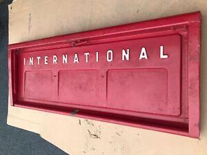 IH International Harvester Pick Up Tailgate Fleet side