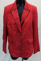 Boden Women's Two Button Winsford Blazer HD3 Poinsettia Size US:14 UK:18 NWT