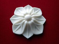 Apliques de resina de flor decorativa-Muebles/puerta moldeo-Onlay Shabby Chic