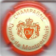 Capsule de champagne Comte de montperthuis N°4d ctr Orange