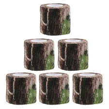 6pcs Camo Tape Camouflage Wrap Tape Army Hunting Auto-Adhesive Protective