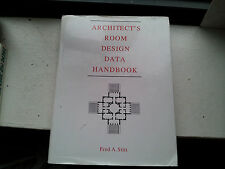 inaa go uSED Architect's Room Design Data H-book by Fred A. Stitt 1992 Hardcover