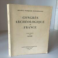 Congresso Archeologico Di Francia 123e Session 1965 Savoy