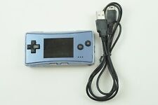 Nintendo Gameboy Micro Blue Console GB From Japan