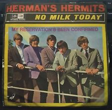 Herman's Hermits – No Milk Today 45 giri Italian Issue 1966 Columbia VG/NM