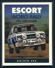 FORD ESCORT MK1 & MK2 (WORKS RALLY CARS)  Collectors Cards - World Cup RAC Welsh