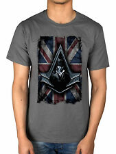Oficial Assassins Creed Syndicate Flag de Superdry Chronicles Desmond Miles Haytham