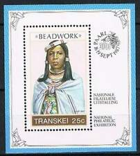 Transkei postfris 1987 MNH block 4 - Beadwork (S1142)