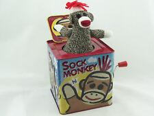 Blechspielzeug - Jack in the Box Socken Affe SMJB   4912317