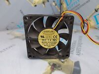2 LOT OF 2 FANS DELTA AFB0612HH 60X60X25mm 3 PIN 5000RPM 12VDC BRUSHLESS