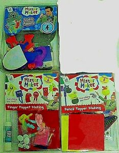 Mister Maker Craft Kit Bundle contains 3 individual craft sets - Save £££s - NEW