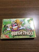Wario Land Advance Nintendo Game Boy Advance GBA Japan game