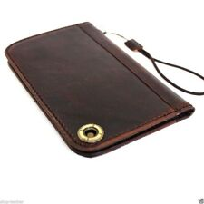 genuine leather Case for Samsung Galaxy S4 SIII s 4 book wallet handmade s3 s2