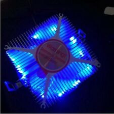 Needcool V9 95W Azul LED CPU Cooler Fan & Disipador De Calor Para Lga 754 939 Amd AM2 AM3