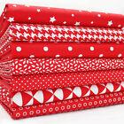 FQ Bundle - Monochromes - Red x 7 - Cotton Fabric Patchwork Quilting Fat Quarter