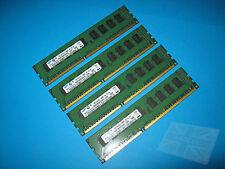 SAMSUNG 4GB (4x1GB) M391B2873FH0-CH9 10600E ecc DDR3 di memoria del server