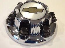 "1pcs. Chrome Chevy Silverado 1500 Tahoe 6 Lug Center Caps 16"" 17"" Steel Wheels"