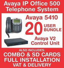 Avaya IP Office 500 Phone System (New with Refurb handsets) - 20 user - Inc VAT