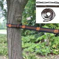 TOMMY LAMBERT 2 Pcs Hammock Belt Adjustable Outdoor Camping Tree Hanging Straps Outdoor Climbing Aerial Yoga Swing 200cm Straps Belt with 2 Pcs Buckle