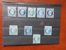 Lot timbres classiques