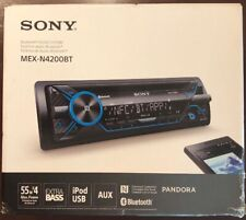 SONY MEX-N4200BT 220W AMP CAR STEREO CD MP3 IPOD USB IPHONE AUX EQ BLUETOOTH NEW