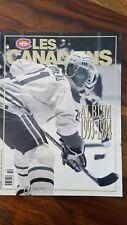 Les Canadiens  album 1993-1994 24th stanley cup (Carbonneau, Damphousse, Demers)