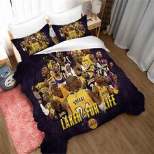 Remember Kobe Bedding Set Duvet Cover Comforter Cover Queen/King PillowCase