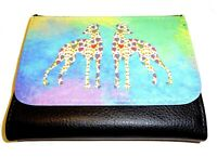 Whippet Wallet Leather pretty Whippets Design Whippet Purse Mothers Day Gift
