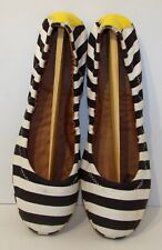 Women's Lucky Brand Lp-Erin 2 Ballet Flats Size 7½ B Striped Slip On