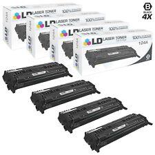 LD Remanufactured HP 124A (Q6000A) Black Toner Set of 4 for Color LaserJet