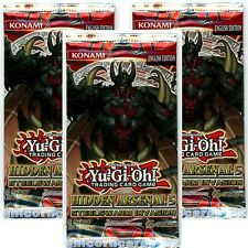 YuGiOh! Hidden Arsenal 5 UNL Edition New and Sealed YuGiOh Booster Packs x3