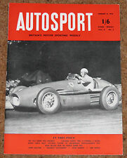 Autosport January 8th 1954 *Monte Carlo Rally Prospects*