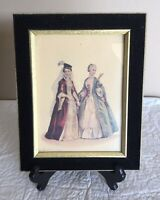 Vintage Bernard Picture Company Lithograph Print Of Ladies Of High Society